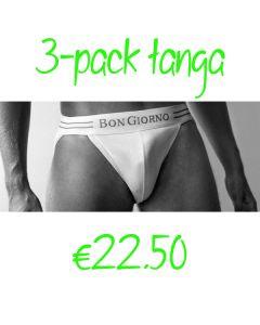 3-PACK BON GIORNO TANGA