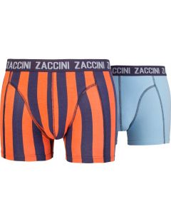 ZACCINI 2-PACK HERENBOXERSHORTS MARRAKESH & BLEU